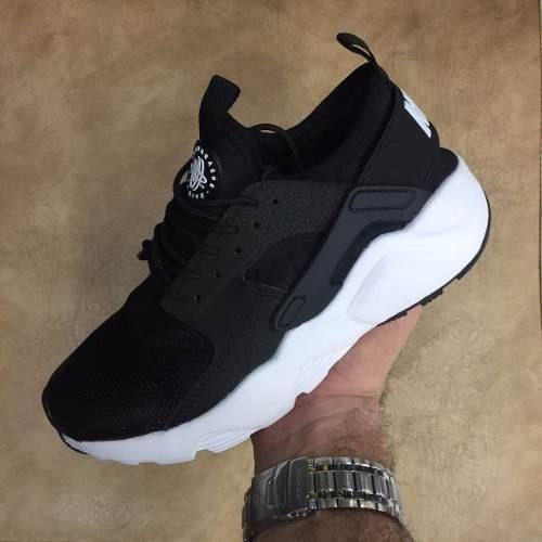 59b2b2218aa Tenis Zapatillas Nike Huarache Negro Blanco Mujer Hombre Env - $ 139.009 en  Mercado Libre