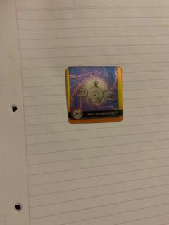 Magnemite Magneton Flipz Pokemon Lenticular Action Coleccion