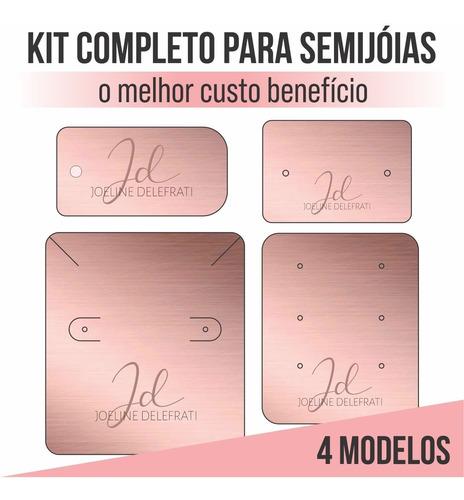 Imagem 1 de 2 de Kit 1000 Tag Personalizada Bijuteria Semijoia Completo F/v