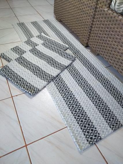 Jogo De Tapetes Para Cozinha Celta Cores Volpe Textil