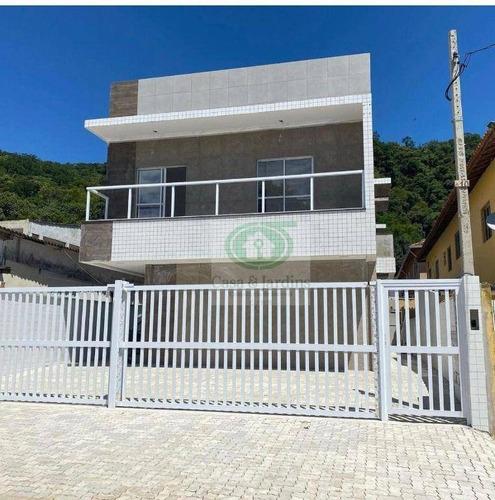 Imagem 1 de 12 de Casa Com 2 Dormitórios À Venda, 50 M² Por R$ 230.000,00 - Japuí - São Vicente/sp - Ca0932