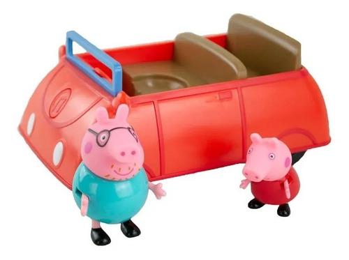 Imagem 1 de 7 de Peppa Pig  Carro Da Família Com Som -  Sunny 2304