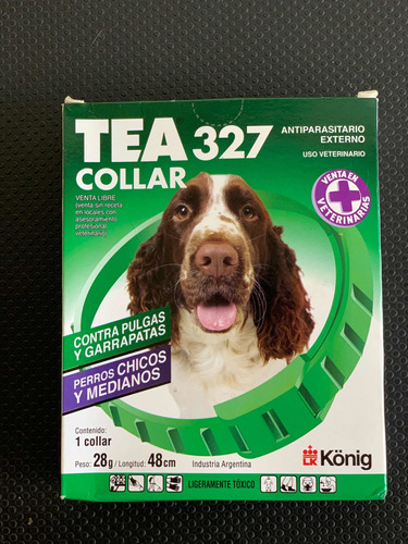 Collar Antipulgas Tea Para Perros Medianos