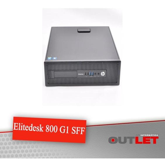 Computador Hp Elitedesk 800 G1 Sff Core I5 3.30ghz 4gb 500gb