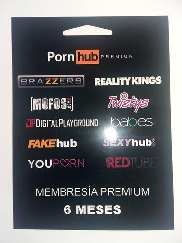 Imagen 1 de 1 de Porn*hub Y Otros 6 Meses