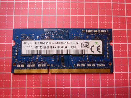 Memoria Ram 4gb Pc3l Ddr3 1600mhz