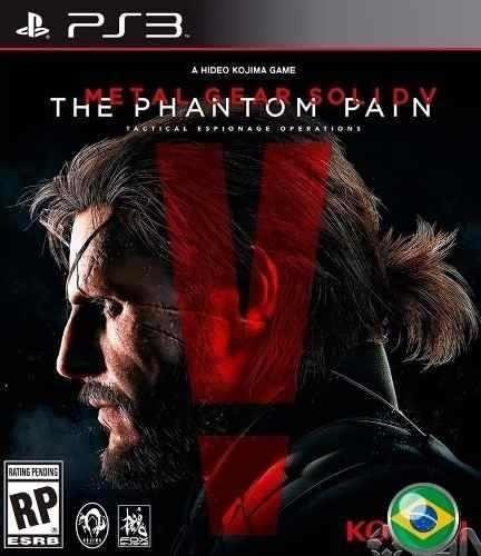 Metal Gear Solid V 5 The Phantom - Jogos Ps3 Play 3 Psn