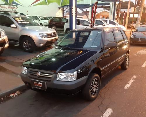 Fiat Uno Mille 4 Portas 2011 Completo