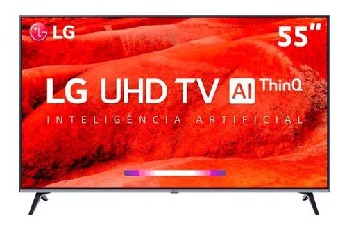 """Tv 55"""" Led LG 4k - Ultra Hd Smart - 55um7520"""