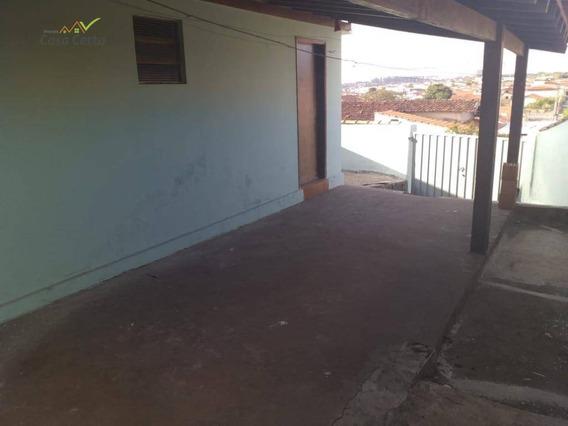 Casa Com 3 Dormitórios Para Alugar, 100 M² Por R$ 800/mês - Jardim Itamaraty - Mogi Guaçu/sp - Ca1483