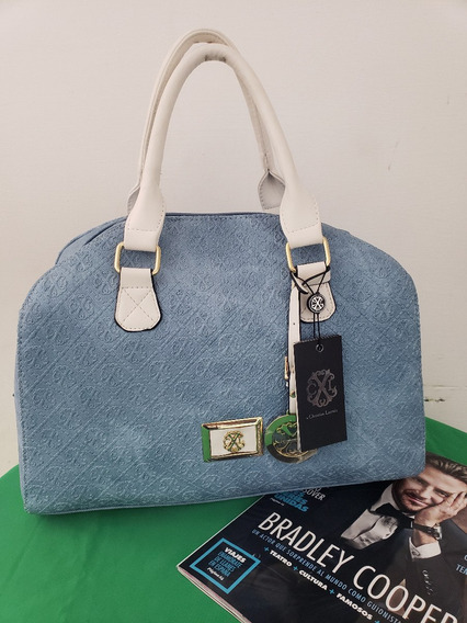 Bolsa Para Dama Marca Lacroix Original Usa Azul