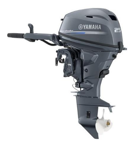 Motor De Popa F25hp Yamaha 4 Tempos Injeção Eletrônica