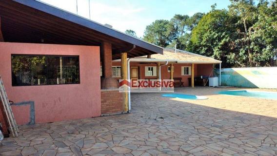 Chácara Com 3 Dormitórios À Venda, 1100 M² Por R$ 450.000 - Mirante Jaguari - Cosmópolis/sp - Ch0048