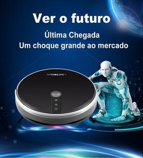 Robô Aspirador 3em1 Liectroux C30b C/ Wifi E Google + Alexa