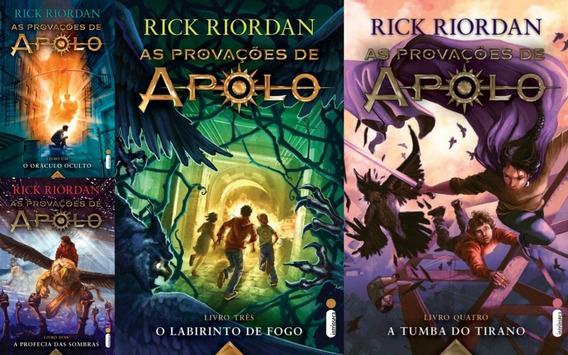 Coleção As Provações De Apolo - Do Vol 1 Ao 4 Rick Riordan