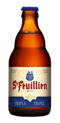 Imagem 1 de 1 de Cerveja St Feuillien Triple Tripel Ale Belga 330 Ml