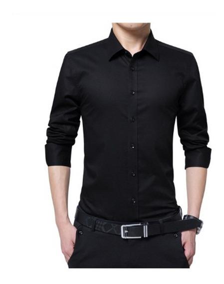 Camisa Classic Premium Slim Fit Entallada Envio Desde Mexico