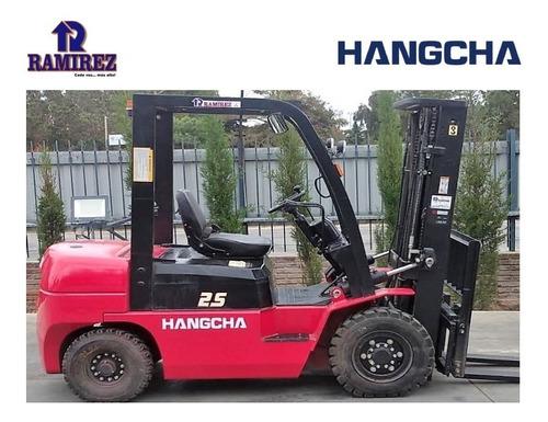 Autoelevador Usado Hangcha 2.5 Ton - Muy Buen Estado