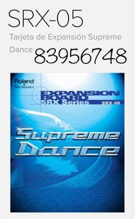 Srx-05 Roland Supreme Dance Tarjeta De Expansión