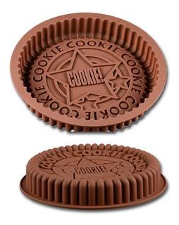 X2 Molde Silicona Horno Torta Cookie Tortera Repostería 22cm