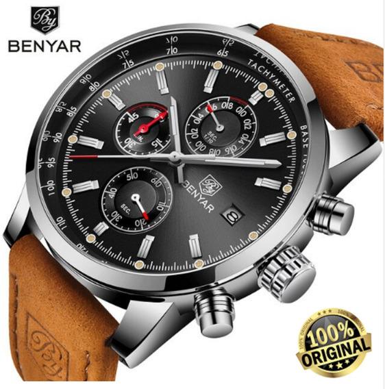 Relógio Benyar Masculino Top Estiloso Frete Grátis