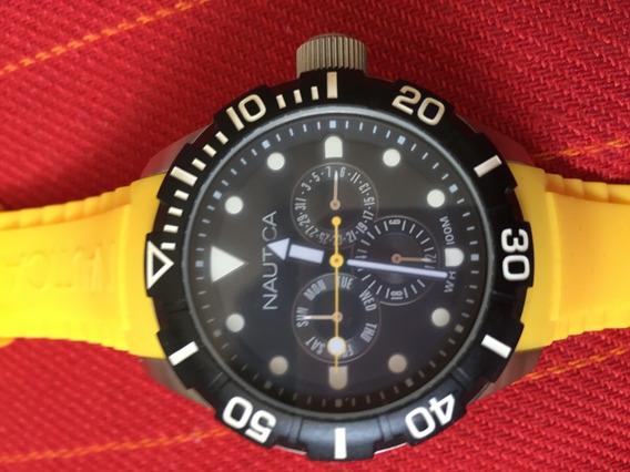 Relógio Náutica Mod. A13644g - Envio Imediato