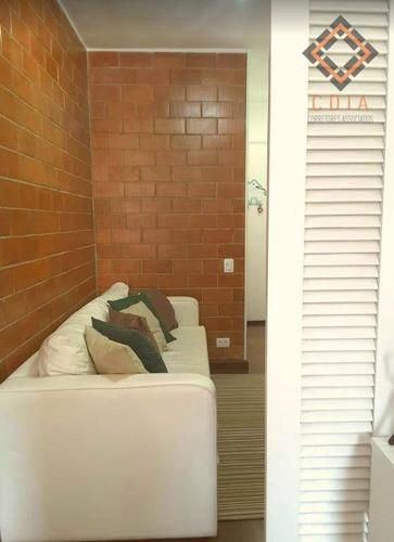 Apartamento Com 1 Dormitório À Venda, 37 M² Por R$ 320.000,00 - Cerqueira César - São Paulo/sp - Ap47496