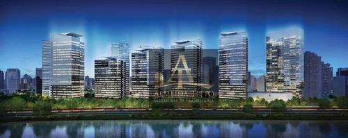 Excelente Sala Comercial Com 39,75 M² No Edifício Parque Da Cidade Office - Confira! - Sa0606