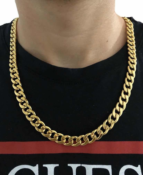 Corrente Cubana Gold Grumete Pronta Entrega (promoção)