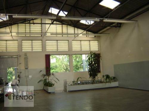 Imagem 1 de 15 de Imob01 - Galpão 745,55 M2 - Pq. Estoril - São Bernardo Do Campo. - Ga0004