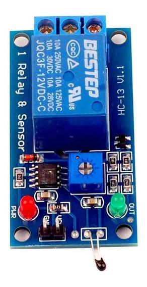 5 X Módulo Sensor Térmico 5v Módulo De Relé 2 Em 1