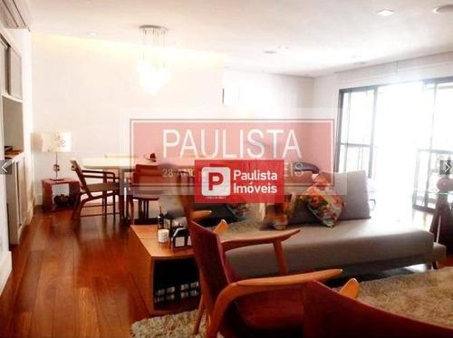 Apartamento Com 4 Dormitórios À Venda, 140 M²  - Brooklin - São Paulo/sp - Ap27342