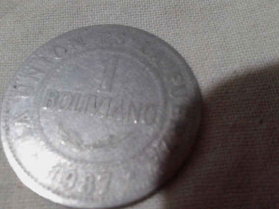 1 Boliviano 1987