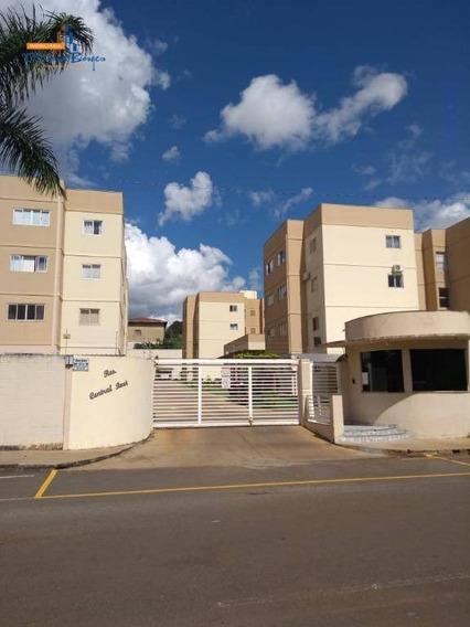 Apartamento Com 2 Dormitórios À Venda, 52 M² Por R$ 180.000 - Vila Góis - Anápolis/go - Ap0382