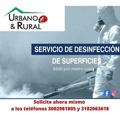 Desinfeccion De Hogares, Industrias, Vehiculos