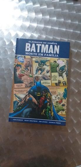Batman Morte Em Familia Panini