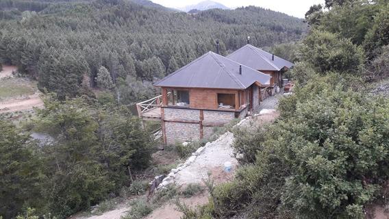Cabaña Meliquina Sobre El Rio Unicas,san Martin De Los Andes