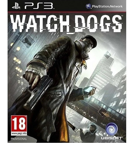 Jogo Ps3 Watch Dogs Ps3 Portugues Brasil Play3 Original