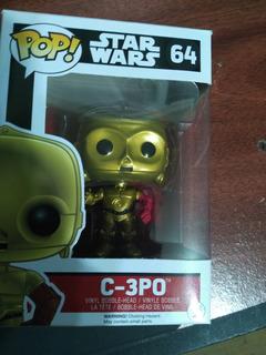 Muñeco Funko C-3po Star Wars Nº 64 Original!