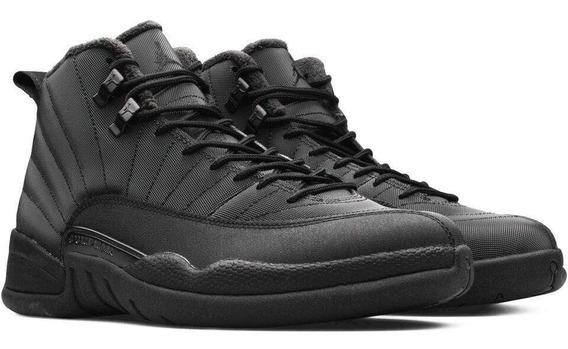 Tenis Nike Air Jordan 12 Retro Wntr Bq6851 001 Originales Talla 26.5mx 8.5us