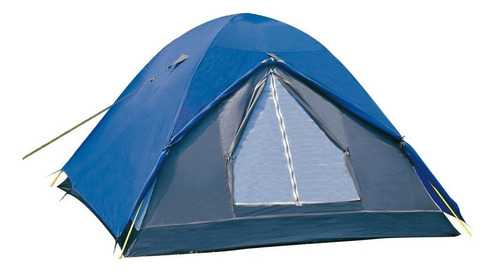 Imagem 1 de 6 de Barraca Camping Fox 4/5 Pessoas 200 X 225 X 130 Cm Nautika