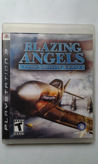 Ps3 Blazing Angels - Squadrons Of Ww2 $349 Pesos - Mikegames