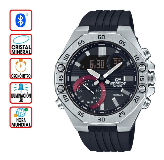 Reloj Casio Edifice Bluetooth Serie Smartphone Ecb-10p-1a