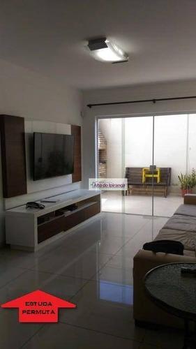 Sobrado Com 4 Dormitórios À Venda, 180 M² Por R$ 1.250.000,00 - Ipiranga - São Paulo/sp - So0466