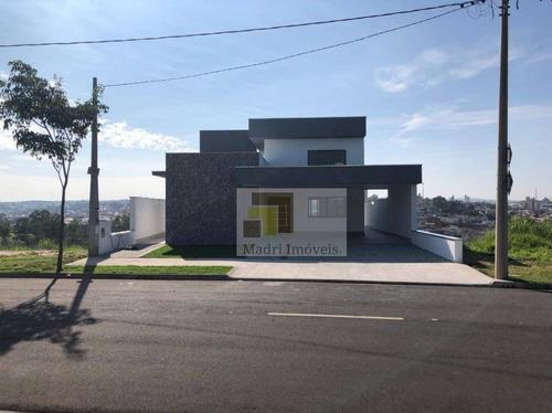 Casa Com 3 Dormitórios À Venda, 244 M² Por R$ 785.000,00 - Centro - Salto/sp - Ca0128