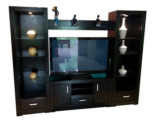 Imagen 1 de 10 de Centro De Entretenimiento Pegasito Mueble Tv