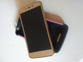 Celular Motorola C Plus (gold)