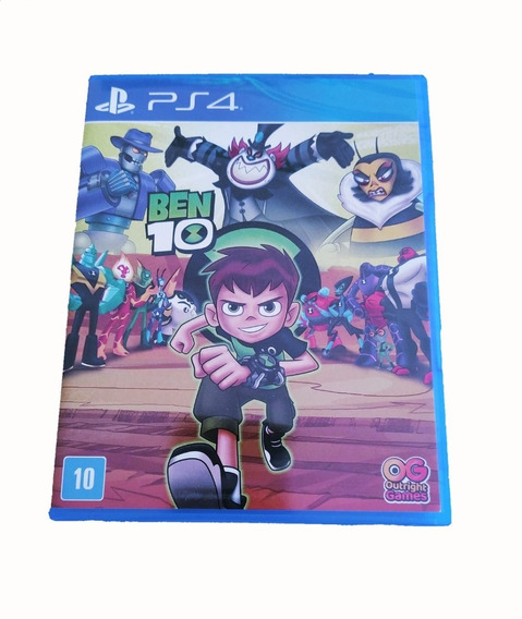 Jogo Mídia Física Desenho Ben 10 Playstation 4 Envio Hoje