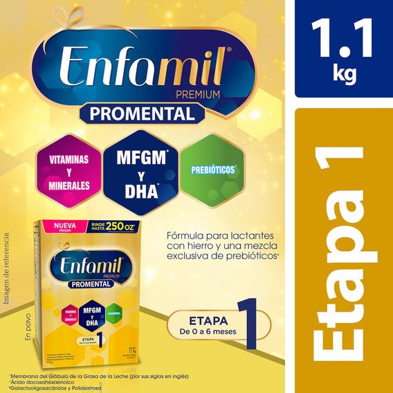 Fórmula Infantil Enfamil Etapa 1, 0 A 6 Meses, Caja De 1.1kg