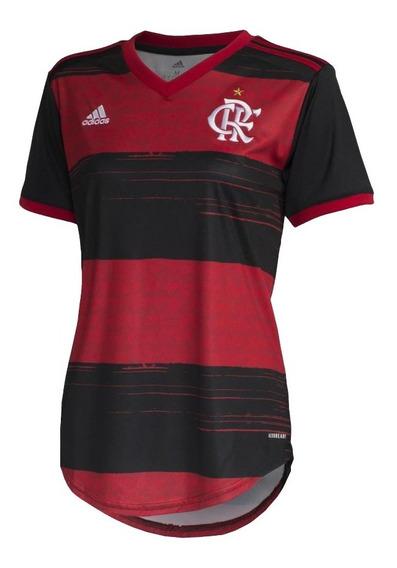 Camisa Do Flamengo Feminino Nova 2020 Oficial - Mega Oferta